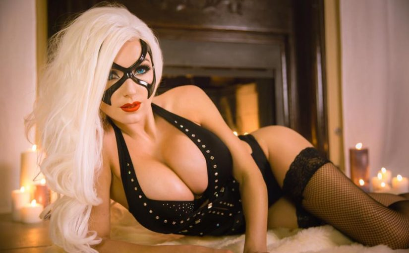 "Jessica Nigri – ""Boudoir Blackcat"" (Jessica in sexy Dessous!)"