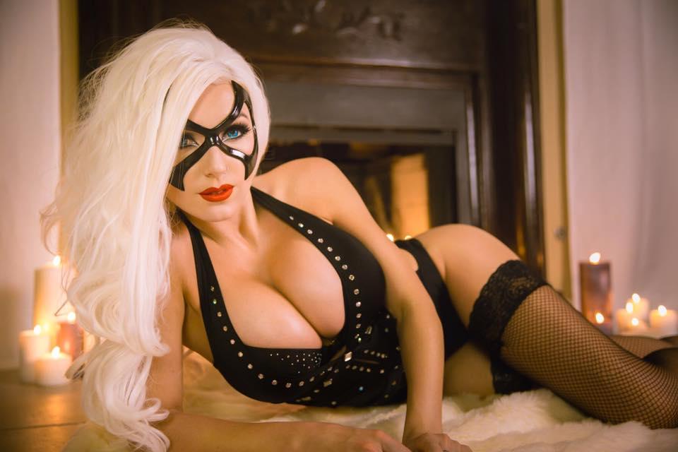 Boudoir Black Cat Jessica Nigri